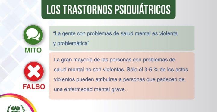 psicologos CDMX. Falsos mitos sobre los trastornos psiquiátricos – parte 1