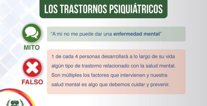 psicologos CDMX. Falsos mitos sobre los trastornos psiquiátricos – parte 2