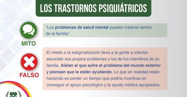 Psicologos CDMX. Falsos mitos sobre los trastornos psiquiátricos – parte 8