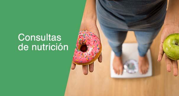 Consultas de nutriologia en df